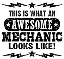 Awesome Mechanic t-shirts