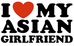 I Love My Asian Girlfriend t-shirt