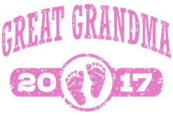 Great Grandma 2017 t-shirt