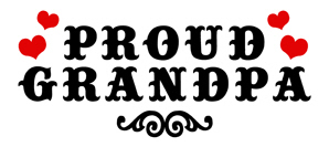 Proud Grandpa t-shirts