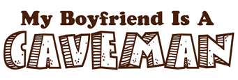 My Boyfriend is a Caveman t-shirts
