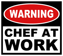Chef at Work t-shirts