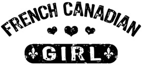 French Canadian Girl t-shirt