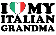 I Love My italian Grandma t-shirt