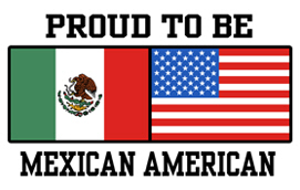 Proud Mexican American t-shirt