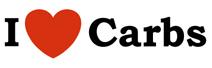 I Love Carbs t-shirts