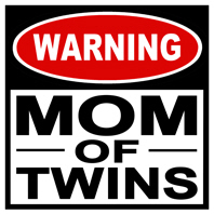 Mom of Twins t-shirt