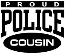 Proud Police Cousin t-shirt