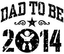 Dad To Be 2014 t-shirts