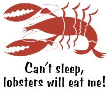 Funny Lobster t-shirt
