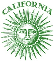 Green California t-shirts