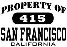 Property of San Francisco t-shirt