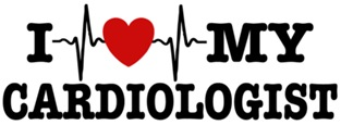 I Love My Cardiologist t-shirts