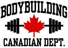 Canadian bodybuilder t-shirts