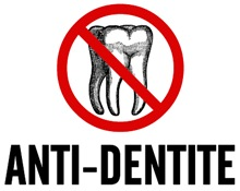 Anti Dentite t-shirts