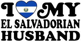 I Love My El Salvadorian Husband t-shirts