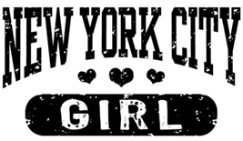 New York City Girl t-shirts