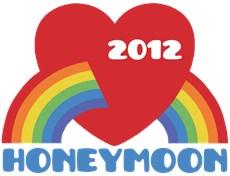 Honeymoon 2012 t-shirts