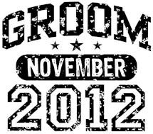 Groom November 2012 t-shirts