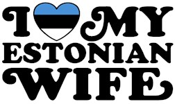I Love My Estonian Wife t-shirt