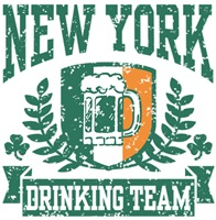 New York Irish Drinking Team t-shirts