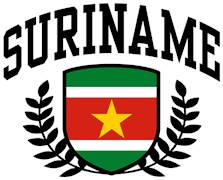 Suriname t-shirts