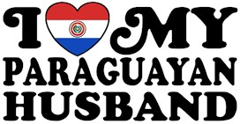 I Love My Paraguayan Husband t-shirts