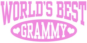 World's Best Grammy t-shirts