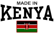 Made In Kenya t-shirts