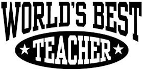 World's Best Teacher t-shirts