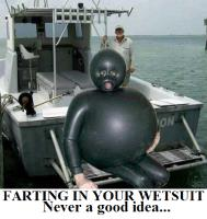 FARTING IN YOUR WETSUIT