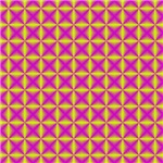 Lime Purple Diamonds
