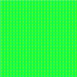 Aqua Yellow Green Field