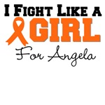 Custom Leukemia I Fight Like a Girl Tees