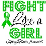 Kidney Disease Fight Like a Girl Shirts