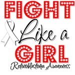 Retinoblastoma Fight Like a Girl Shirts
