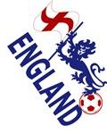 England Flag and Royal Standard Lion