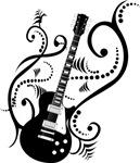 Guitar waves art