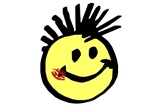 Smiley Face with Mohawk