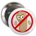 Peanut Allergy Cartoon Button for Kids