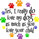 Yes, love dog, child