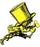 Mad Hatter Striding Yellow