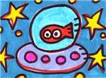 Tickles UFO