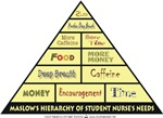 Maslow's Hierarchy of Student Nurse's Needs