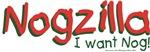 Nogzilla - Eggnog Lover