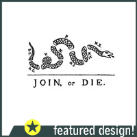 Join or Die T-Shirts