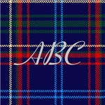 Massachusetts Tartan Monogram