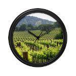 Napa Valley Wall Clock Gifts