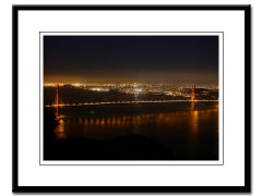 <b>sf golden gate bridge framed archival prints</b