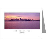 <b>san francisco city skyline greeting cards</b>